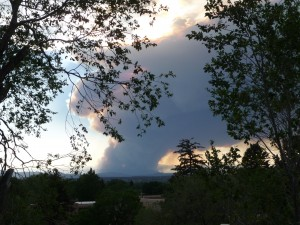 Las Conchas Fire, June 26